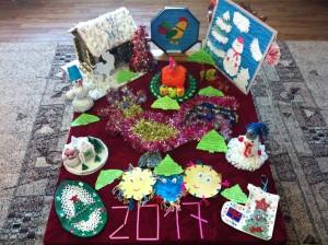 поделки на конкурс    Новогодняя игрушка